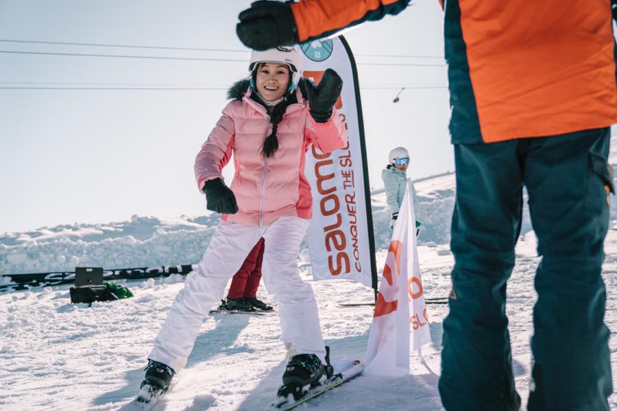 スキーデビュープラン